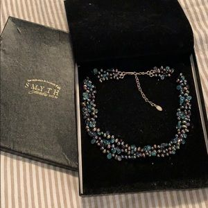 Pearl and stone fine necklace from Smyth Jewelers
